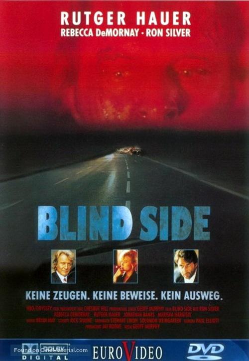 Blind Side - German DVD movie cover