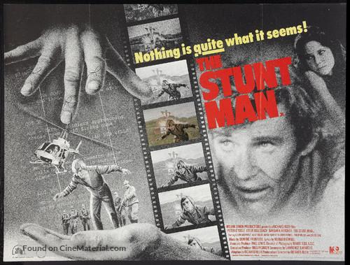 The Stunt Man - British Movie Poster