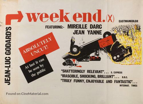 Week End - British Movie Poster