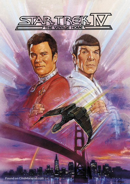 Star Trek: The Voyage Home - Movie Cover