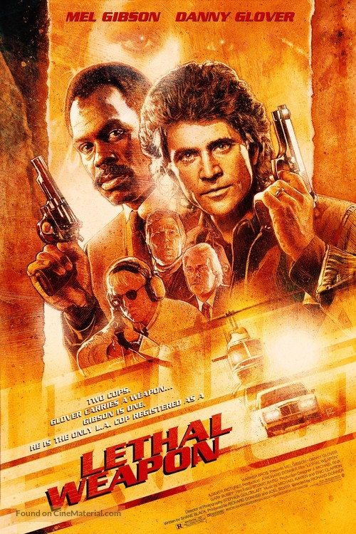 Lethal Weapon - Movie Poster