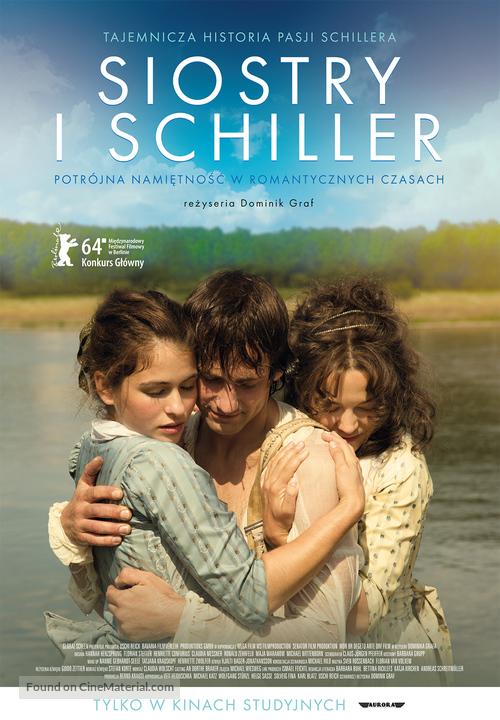 Die geliebten Schwestern - Polish Movie Poster