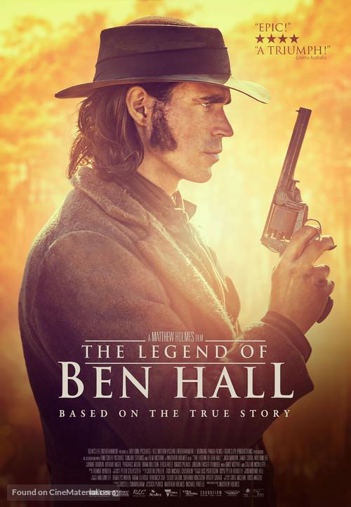 The Legend of Ben Hall - Australian Movie Poster