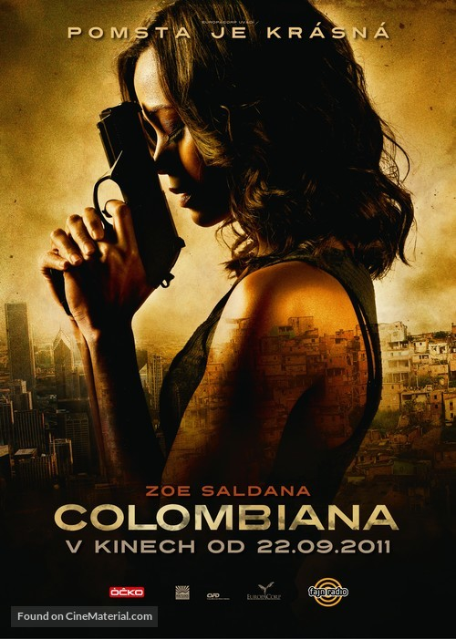 Colombiana - Czech Movie Poster