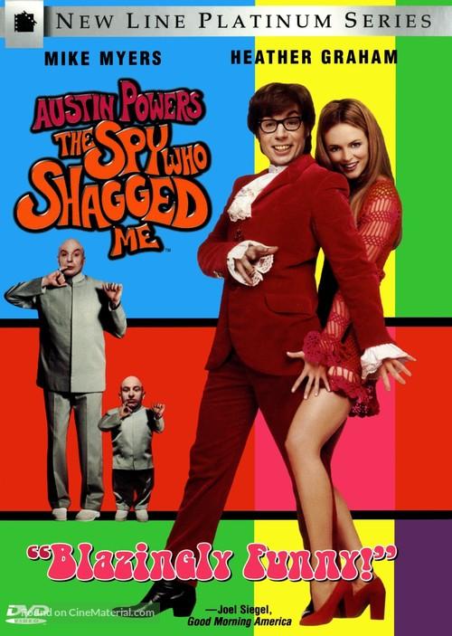 Austin Powers: The Spy Who Shagged Me - DVD movie cover