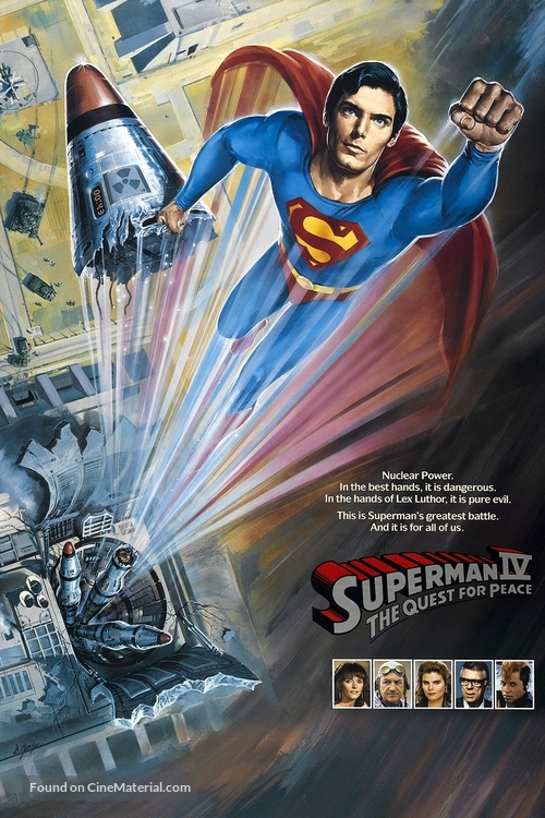 Superman IV: The Quest for Peace - Movie Cover