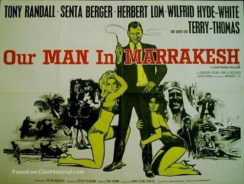 Our Man in Marrakesh - British Movie Poster