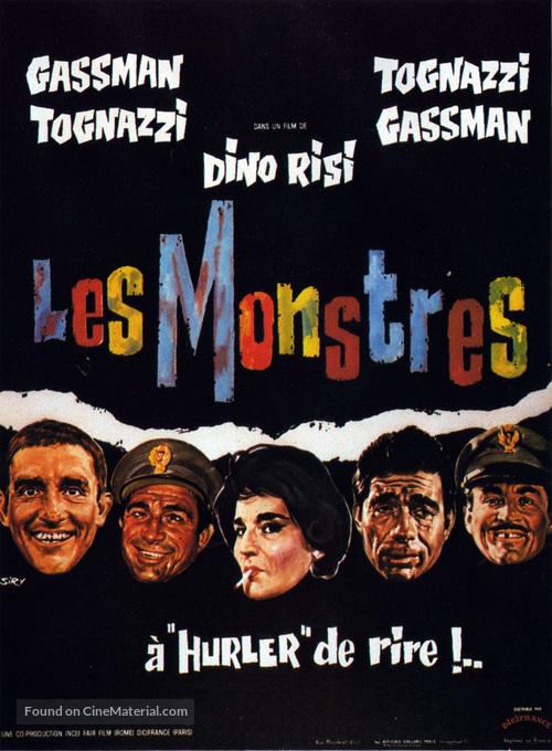 I mostri - French Movie Poster