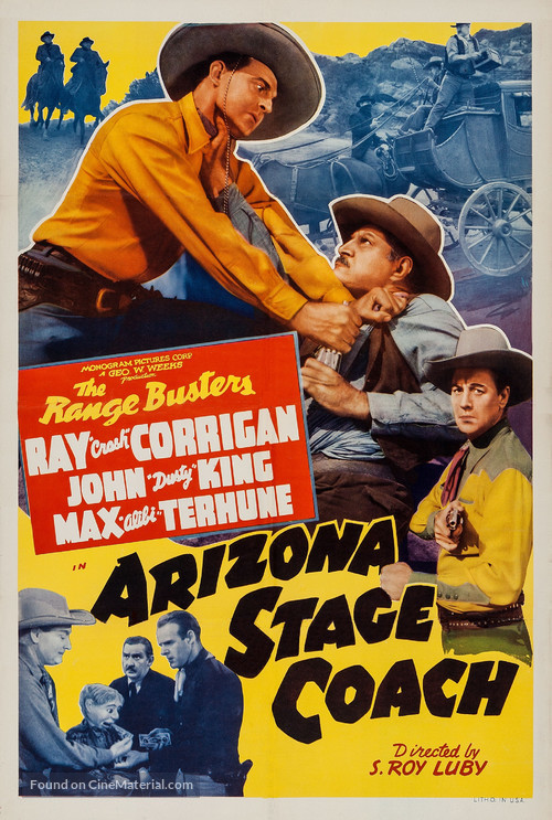 Arizona Stage Coach - Movie Poster