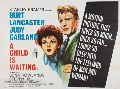 A Child Is Waiting - British Movie Poster