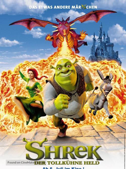 Shrek - German Movie Poster