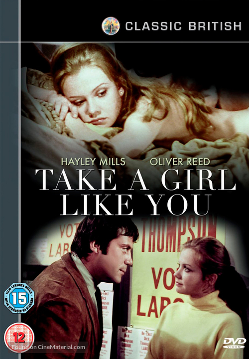 Take a Girl Like You - British DVD cover