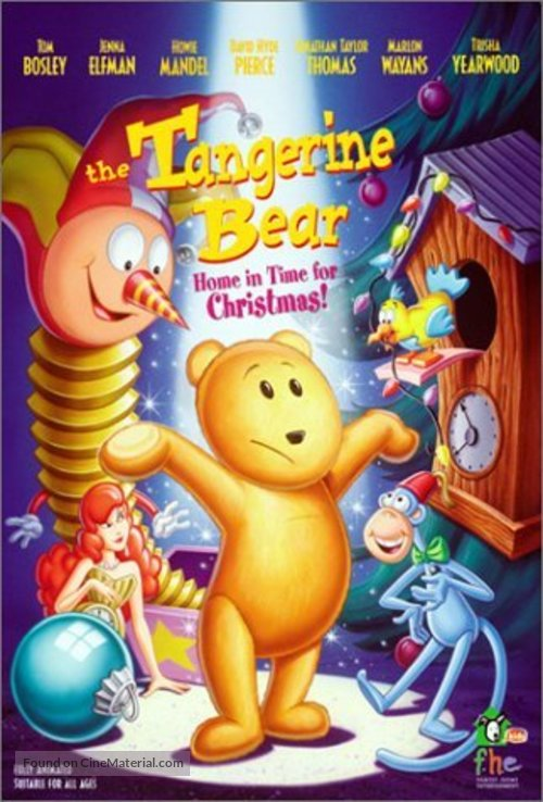 The Tangerine Bear - Movie Cover