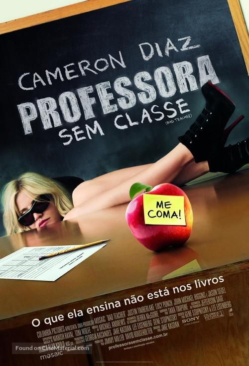 Bad Teacher - Brazilian Movie Poster