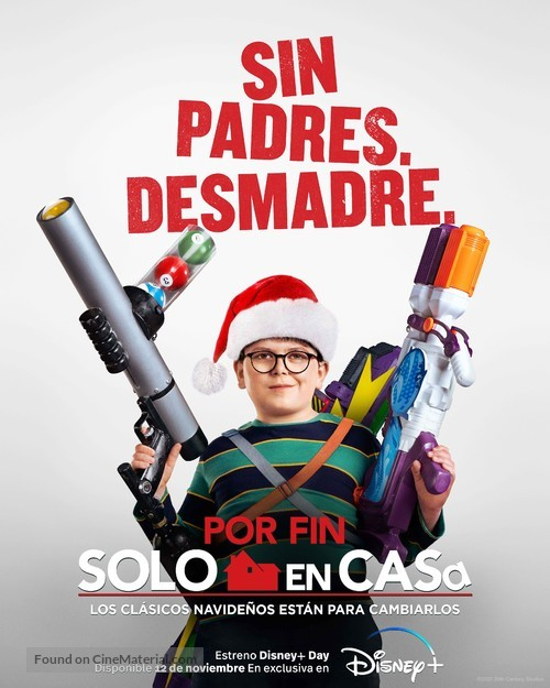 Home Sweet Home Alone - Spanish Movie Poster