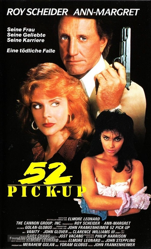 52 Pick-Up - German VHS movie cover