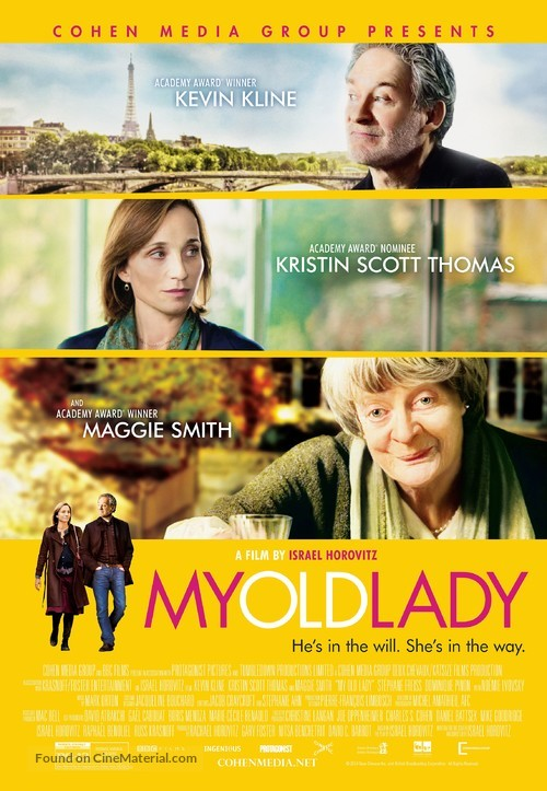My Old Lady - Movie Poster