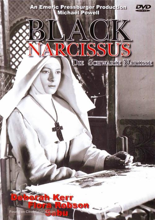 Black Narcissus - German DVD movie cover