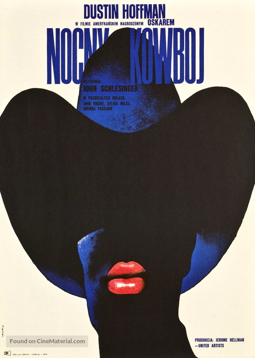 Midnight Cowboy - Polish Movie Poster
