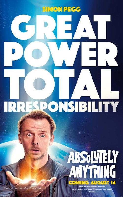 Absolutely Anything - Movie Poster
