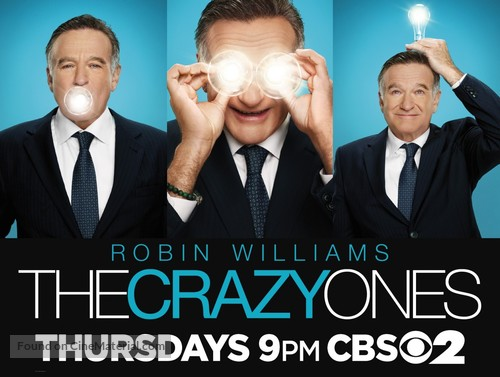 """""""The Crazy Ones"""" - Movie Poster"""