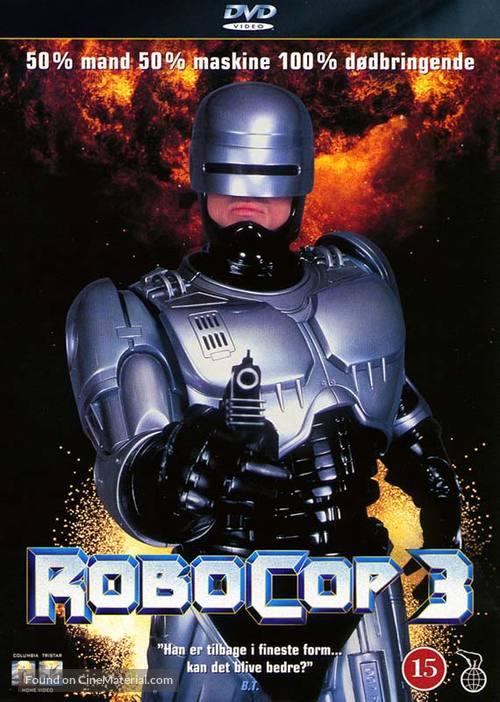 RoboCop 3 Danish dvd cover
