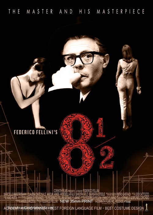 8½ - Movie Poster