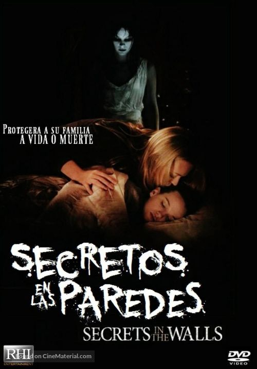 Secrets in the Walls - Spanish DVD movie cover