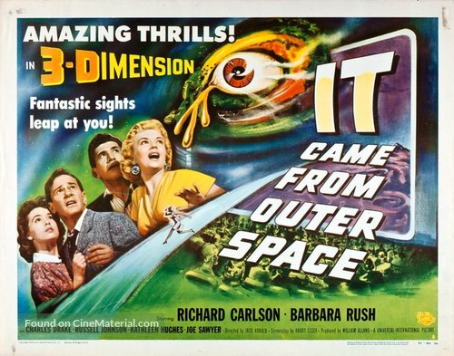 It Came from Outer Space - Theatrical movie poster