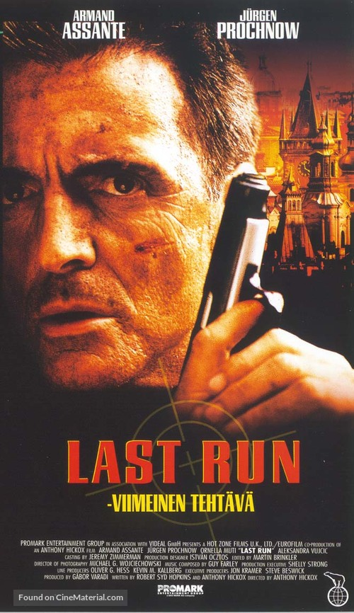 Last Run - Finnish VHS movie cover