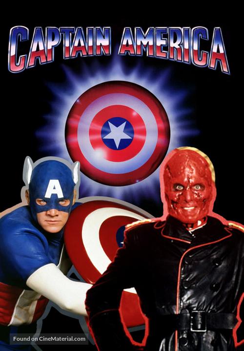 Captain America - German DVD movie cover
