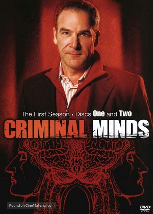 """Criminal Minds"" - DVD movie cover"