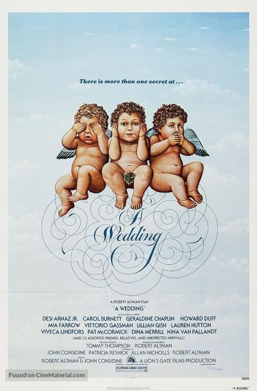 A Wedding - Movie Poster