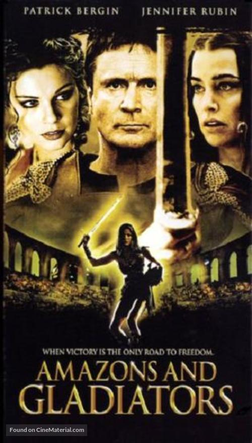 Amazons and Gladiators - VHS movie cover