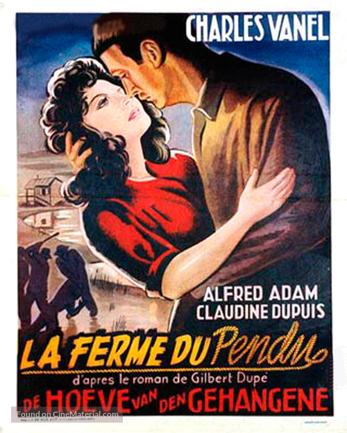 La ferme du pendu - Belgian Movie Poster