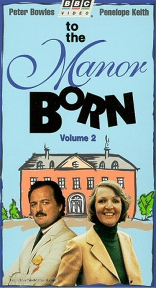 """""""To the Manor Born"""" - British VHS movie cover"""