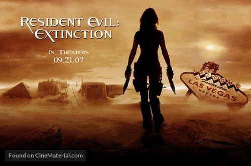 Resident Evil: Extinction - Movie Poster