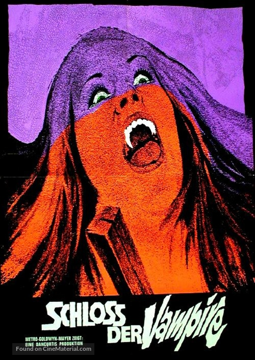 House of Dark Shadows - German Movie Poster