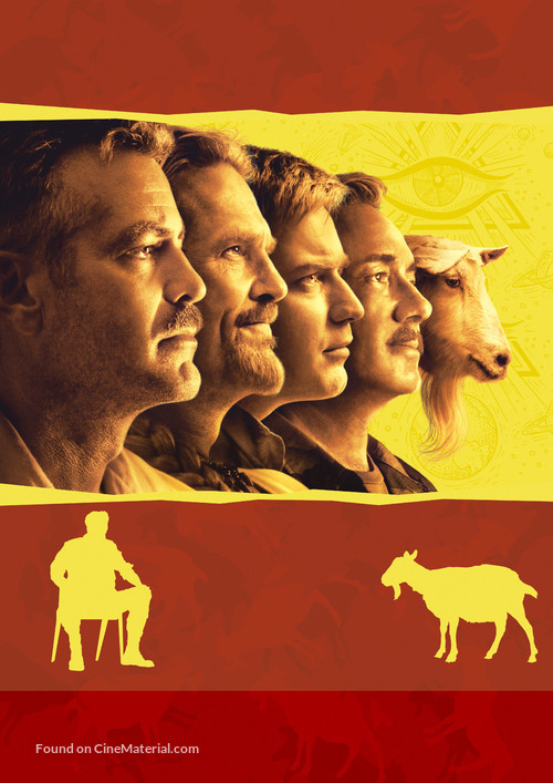 The Men Who Stare at Goats - German Key art