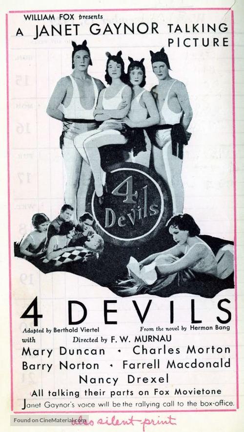 4 Devils - poster