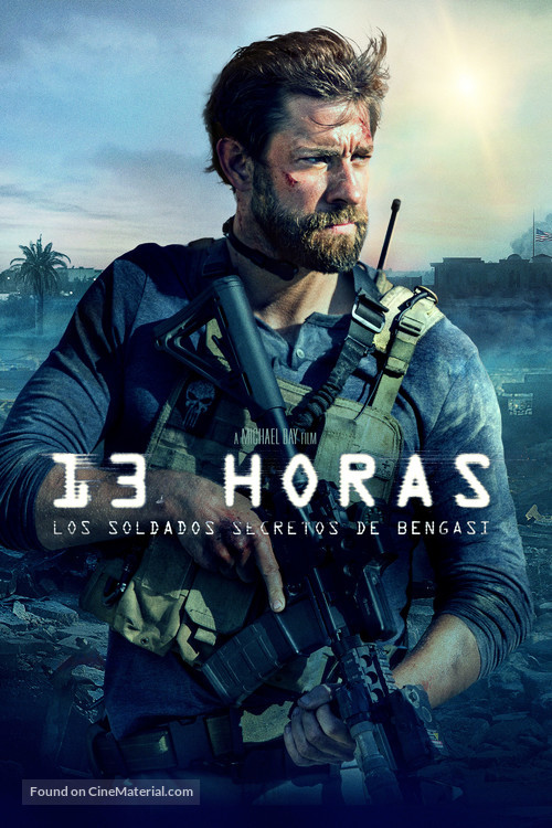 13 Hours: The Secret Soldiers of Benghazi - Argentinian Movie Cover