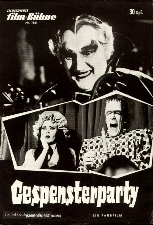 Munster, Go Home - German poster