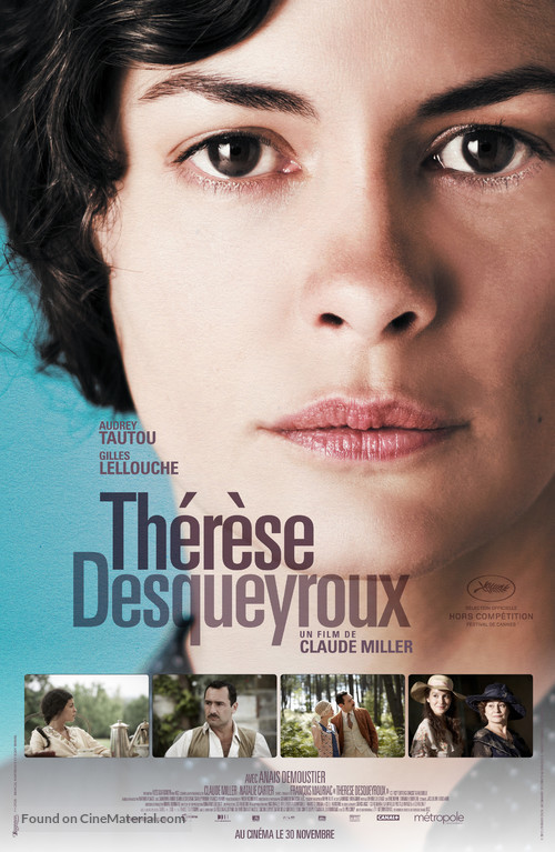 Thérèse Desqueyroux - Canadian Movie Poster