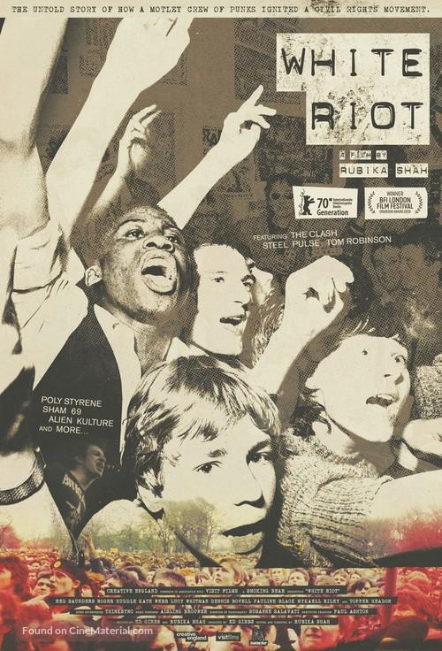 White Riot - British Movie Poster