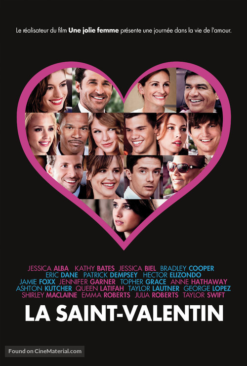 Valentine's Day - Canadian Movie Poster