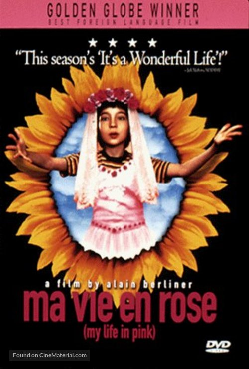Ma vie en rose - DVD movie cover