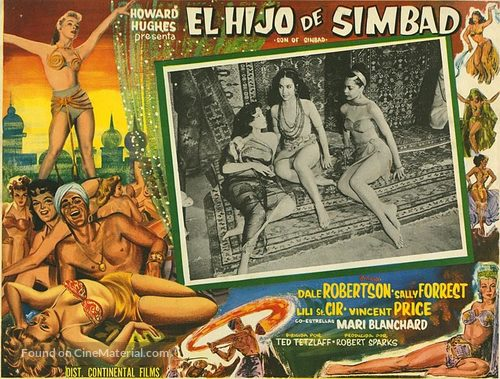 Son of Sinbad - Mexican Movie Poster