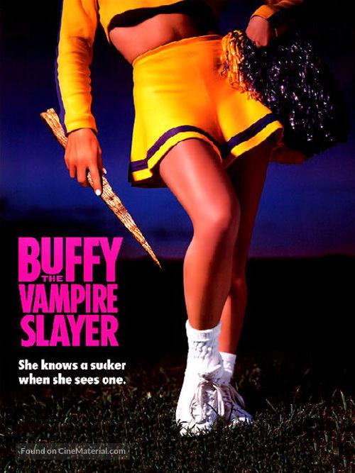 Buffy The Vampire Slayer - Canadian DVD movie cover
