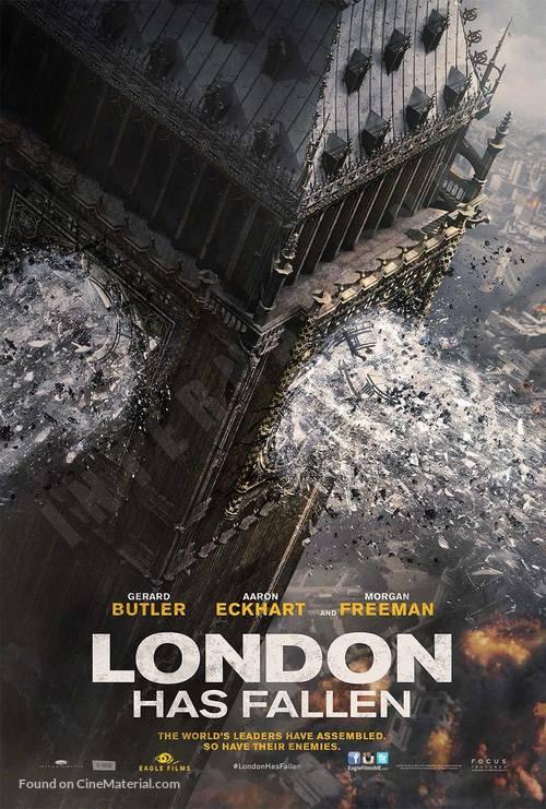 London Has Fallen - Lebanese Movie Poster