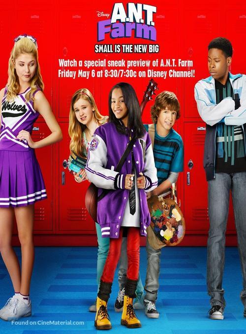 """""""A.N.T. Farm"""" - Movie Poster"""
